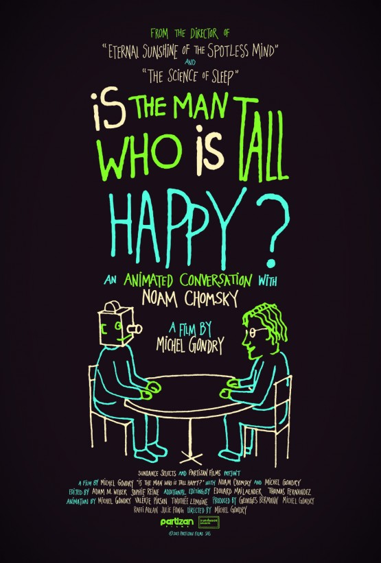 Gondry_Michel_Is The Man Who Is Tall Happy _Poster