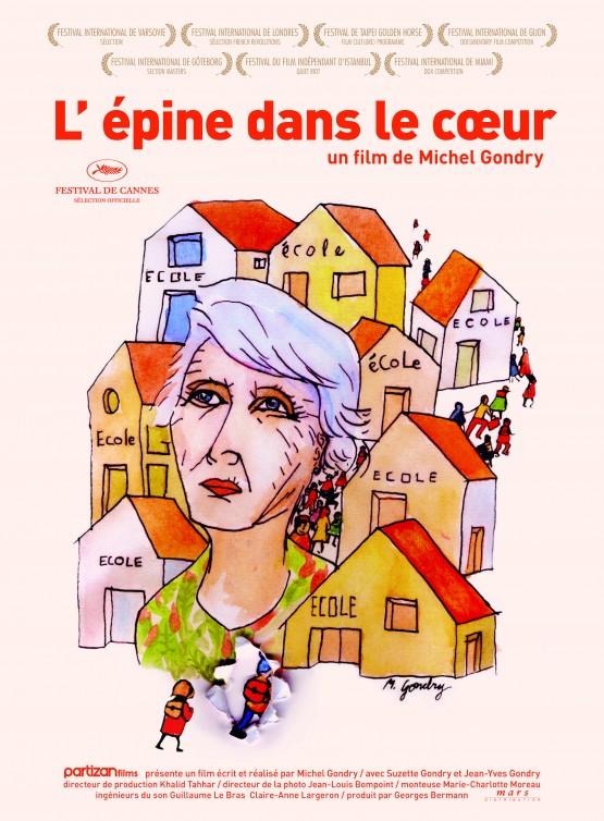 Gondry_Michel_L'Epine dans le coeur_Poster