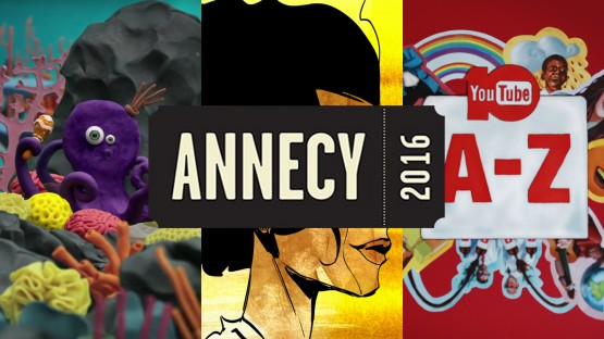 ANNECY FESTIVAL MIFA_Victor Haegelin, Mustashrik and Hoku  Adam officially selected_